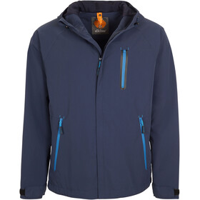 Elkline Outside Rain Jacket Men blueshadow